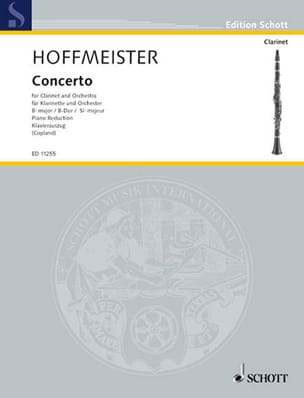 Franz Anton Hoffmeister - Major Bb Concerto - Sheet Music - di-arezzo.com