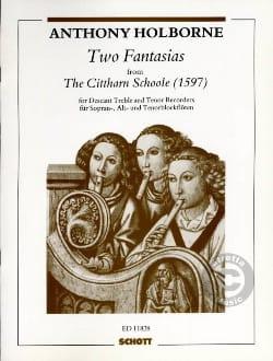 2 Fantasias - Anthony Holborne - Partition - laflutedepan.com