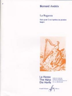 La Ragazza - Bernard Andres - Partition - laflutedepan.com