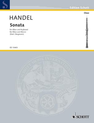 HAENDEL - Sonata B-Dur - Oboe Klavier - Sheet Music - di-arezzo.co.uk