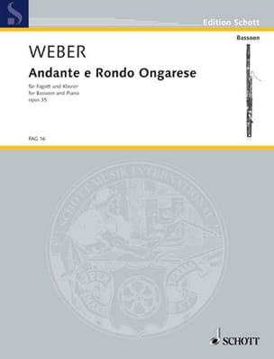 Andante e Rondo ongarese op. 35 Carl Maria von Weber laflutedepan