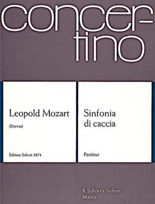 Sinfonia di caccia - Partitur Leopold Mozart Partition laflutedepan