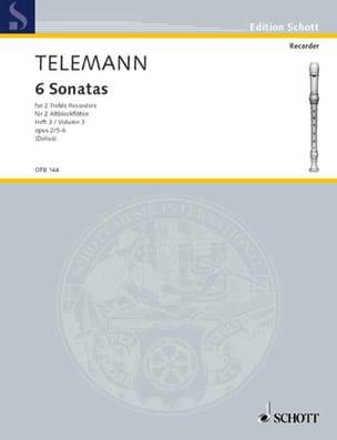 6 Sonaten für 2 Altblockflöten, Heft 3 op. 2/5-6 - laflutedepan.com