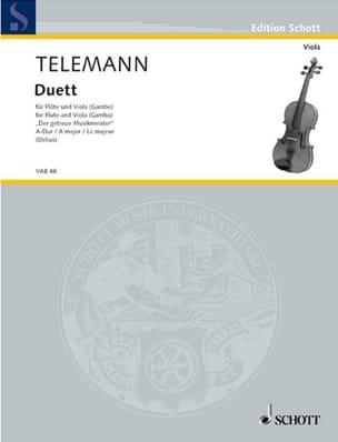 Duett A-Dur – Flöte u. Viola (o. Gambe) - laflutedepan.com