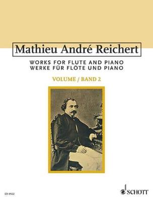 Sämtliche Werke für Flöte - Bd. 2 Mathieu André Reichert laflutedepan