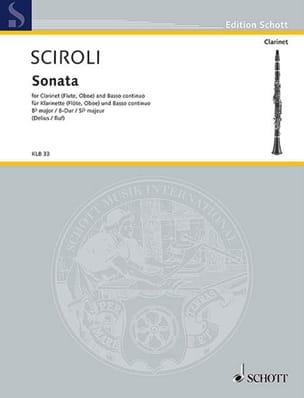 Sonata B-Dur – Klarinette (Flöte, Oboe) u. Bc - laflutedepan.com