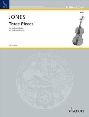 Douglas Jones - 3 Pièces - Partition - di-arezzo.fr