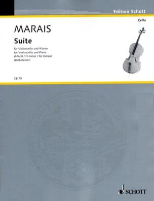 Suite ré mineur Marin Marais Partition Violoncelle - laflutedepan