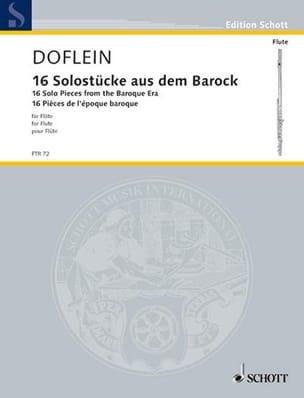 16 Solostücke aus dem Barock - Partition - laflutedepan.com