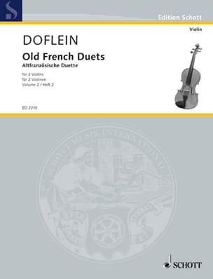Altfranzösische Duette, Bd 2 - Erich Doflein - laflutedepan.com