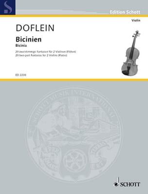 Bicinien - Erich Doflein - Partition - Violon - laflutedepan.com