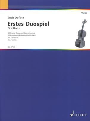 Erstes Duospiel - Erich Doflein - Partition - laflutedepan.com