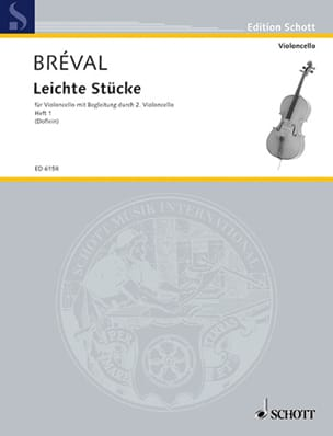 Jean-Baptiste Bréval - Leichte Stücke, Bd 1 - Partition - di-arezzo.fr
