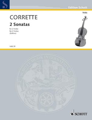 Michel Corrette - 2 Sonaten und ein Menuett - Sheet Music - di-arezzo.co.uk