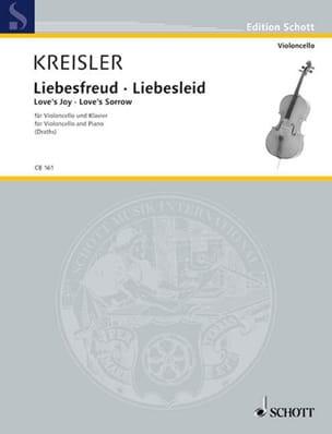 Fritz Kreisler - Liebesfreud - Liebesleid - Partition - di-arezzo.fr