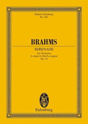 Johannes Brahms - Serenade A-Dur, Op. 16 - Partition - di-arezzo.fr