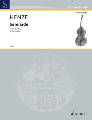 Hans Werner Henze - Serenade - Double bass - Sheet Music - di-arezzo.co.uk