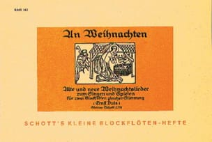 Ernst Duis - An Weihnachten - 2 Blockflöten - Sheet Music - di-arezzo.com