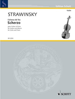 Igor Stravinsky - Scherzo - Sheet Music - di-arezzo.co.uk