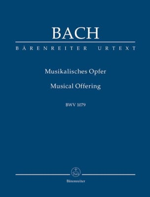 BACH - The Musical Offering - Conductor - Sheet Music - di-arezzo.co.uk