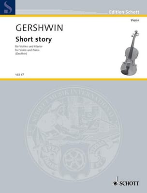 George Gershwin - Short Story - Violin - Partition - di-arezzo.fr