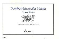 Duettbüchlein Grosser Meister - Irmgard Engels - laflutedepan.com