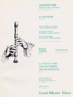 A Division - Partition - Flûte à bec - laflutedepan.com