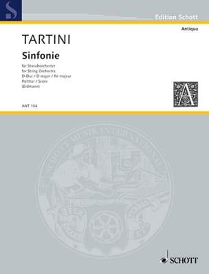 Sinfonia D-Dur – Partitur - Giuseppe Tartini - laflutedepan.com