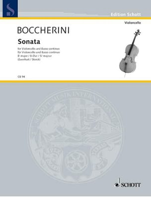 Sonate si bémol majeur G. 12 - Luigi Boccherini - laflutedepan.com