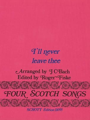 Four Scotch Songs, Nr. 1 - Johann Christian Bach - laflutedepan.com