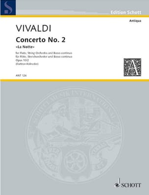 Concerto Pour Flûte F.6 N°13 En Sol Min. - Conducteur laflutedepan
