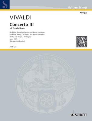 Concerto Pour Flûte F. 6 N° 14 En Ré M. - Conducteur - laflutedepan.com