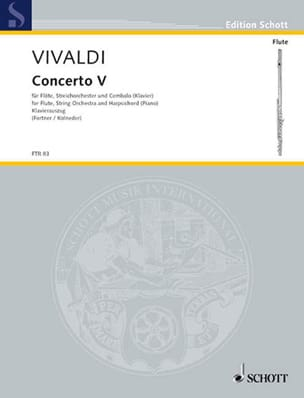 VIVALDI - Concerto F-Dur Op. 10 No. 5 - Sheet Music - di-arezzo.co.uk