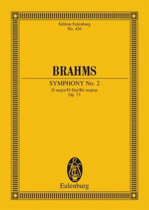 Symphonie N° 2 D Major Op. 73 - Conducteur BRAHMS laflutedepan
