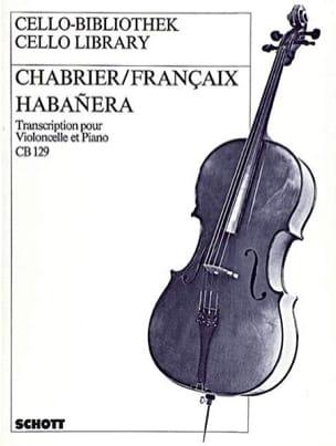 Chabrier Emmanuel / Jean Françaix - Habanera - Partition - di-arezzo.co.uk