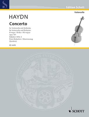 HAYDN - Konzert D-Dur op. 101, Hob. 7b: 2 - Sheet Music - di-arezzo.co.uk