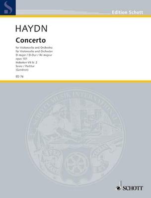 Concerto Cello D-Dur Hob. 7b:2 - Partitur HAYDN laflutedepan