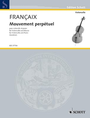 Jean Françaix - Perpetual motion - Sheet Music - di-arezzo.co.uk