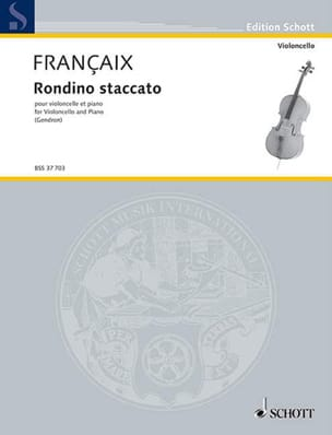 Jean Françaix - Rondino-Staccato - Sheet Music - di-arezzo.co.uk