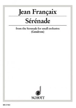 Jean Françaix - Serenade - Sheet Music - di-arezzo.co.uk