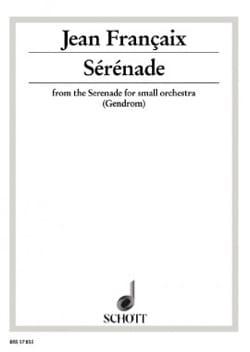 Jean Françaix - Serenade - Partition - di-arezzo.co.uk