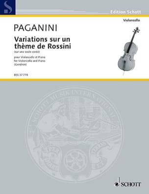 Niccolò Paganini - Variations on one string - Sheet Music - di-arezzo.co.uk