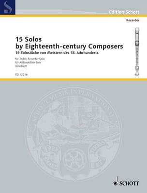 - 15 Solostücke von Meistern of 18. Jahrh. - Sheet Music - di-arezzo.com