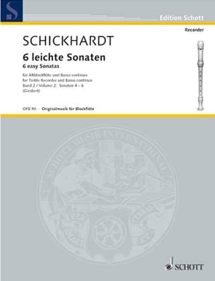6 Leichte Sonaten, Bd. 2 Nr. 4-6 laflutedepan