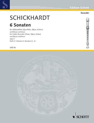 6 Sonaten op. 1 - Bd 2 (Nr. 4-6) - laflutedepan.com