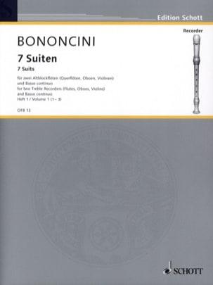 7 Suiten - Heft 1 : Nr. 1-3 –2 Altblockflöten Bc - laflutedepan.com