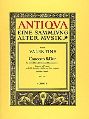 Concerto B-Dur -Altobloflöte 2 Violinen BC - laflutedepan.com