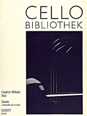 Sonata - Friedrich Wilhelm Rust - Partition - laflutedepan.com