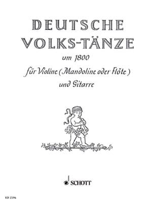 Deutsche Volkstänze um 1800 - Götze - Partition - laflutedepan.com