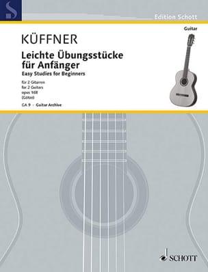 Leichte Übungsstücke für Anfänger - Joseph Küffner - laflutedepan.com